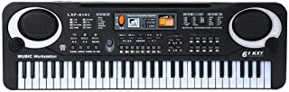 61 Keys Digital Music Electronic Piano Keyboard Instrument with Mic Early Educational Tool Kid Musical Instrument