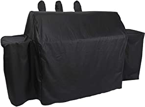 ProHome Direct Heavy Duty Waterproof Grill Cover for Char-Griller Duo 5050 Gas and Charcoal Grill,Black