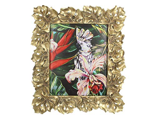 Fotolijst, polyhars, goud, afmetingen 20 x 25 cm