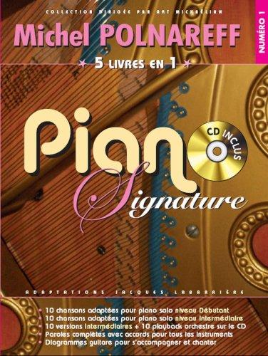 Piano Signature Michel Polnareff + CD