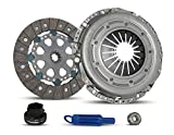Clutch Kit For Dual Mass compatible with 323i 323is 325i 325is 325e 524td 525i 528e Base Coupe Convertible Wagon Sedan 1986-1999 2.5L L6 2.7L L6 GAS 2.4L L6 DIESEL (03-011)