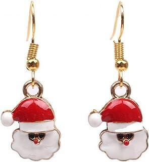 Accessoires Joli Pendentif à Main Chaine Or Suspendu Coloré Sapin Bonbon Surprise pour Cadeau de Noel Fille Bracelet Femme Père Noël Bijou Noel Bijoux