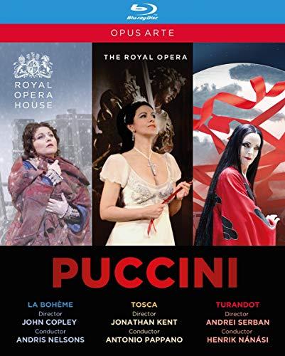 Puccini:Box Set [Various,Various] [OPUS ARTE : BLU RAY] [Blu-ray] [UK Import]