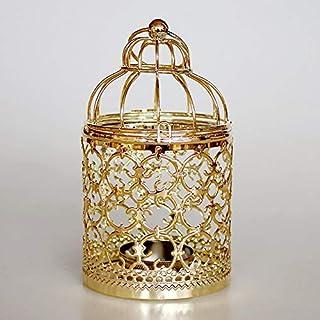 Chandelier Pendant Light Metal Hollow Moroccan Lantern Candle Holder Tea Light Candle Cradle Home Room Decor Chandeliers P...
