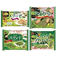 ブルボン 抹茶菓子シリーズ 大袋 4種各3袋セット(計12袋)