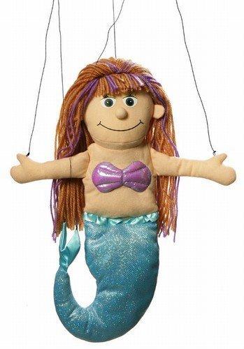 Mermaid Peach Marionette String Puppet