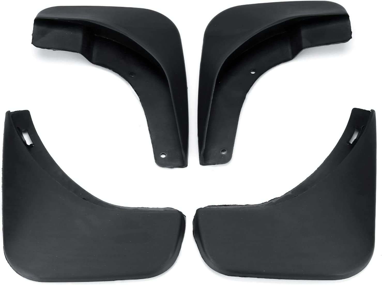 BNMY car Car Mud Flaps Limited time trial price for Skoda Octavia A5 High material Sedan Saloon 2005- 2