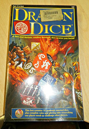Dragon Dice Game: A Fast and Furious Conflict Between Dice Armies You Build (Hit Dice Collectible Dice Game)