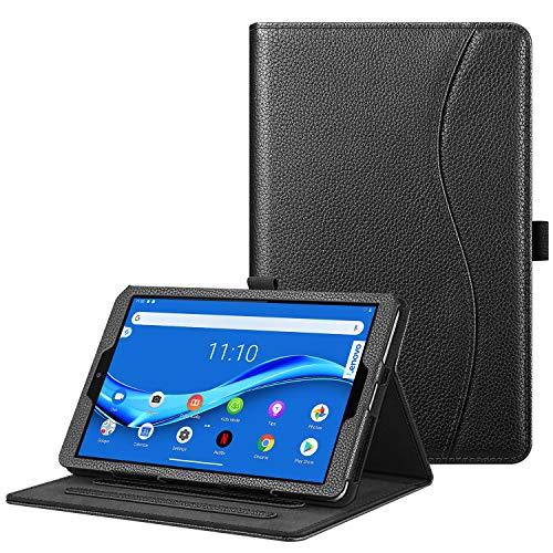 Fintie Hulle fur Lenovo Tab M8 TB 8705FTB 8505FTB 8505XTB 8505FS Multi Winkel Betrachtung Folio Stand Schutzhulle fur Lenovo Tab M8 HD FHD 2nd Gen Smart Tab M8 8 Zoll Tablet PC Schwarz
