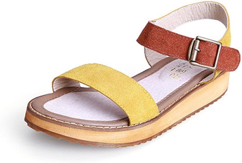 F1rst Rate Women's Summer Fashion Peep-Toe Platform Sandals Beach shoes