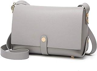 COAFIT Women's Satchel Bag Casual Flap Cover Mini Shoulder Bag Crossbody Bag