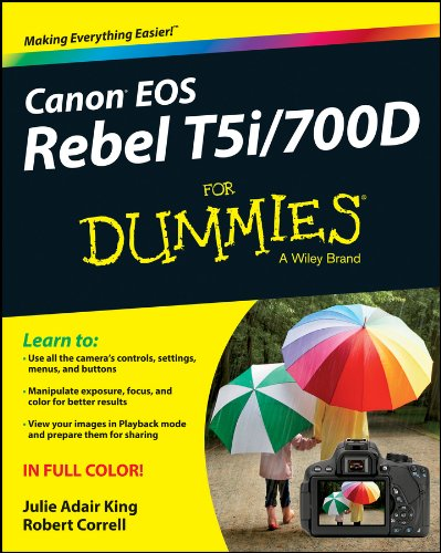 Price comparison product image Canon EOS Rebel T5i / 700D For Dummies