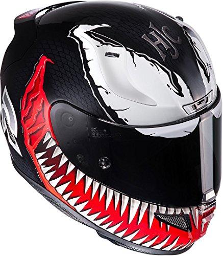 HJC RPHA11 VENOM MARVEL MC1 XXS - Casco de moto