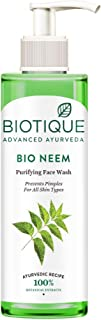 Biotique Bio Neem Purifying Face Wash for All Skin Types, 200ml