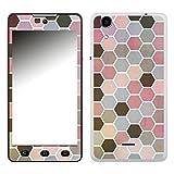 Disagu SF-106574_1204 Design Folie für Wiko Rainbow Lite - Motiv Polygone 01