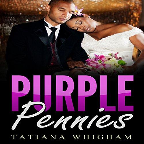 Purple Pennies audiobook cover art