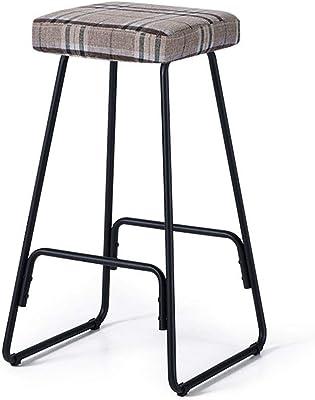 per Guardaroba HxLxP: 48 x 56 x 28,5 cm Elegante Relaxdays 10022339 Sgabello in Bamb/ù Design Curvo
