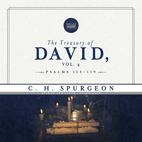 The Treasury of David, Volume 4 audiobook cover art