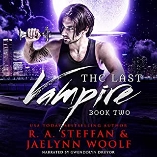 The Last Vampire: Book Two cover art