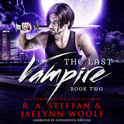 The Last Vampire: Book Two                   By:                                                                                                                                 R.A. Steffan,                                                                                        Jaelynn Woolf                               Narrated by:                                                                                                                                 Gwendolyn Druyor                      Length: 6 hrs and 36 mins     4 ratings     Overall 5.0