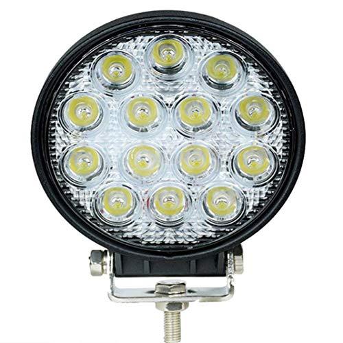 HYY-AA LED Light Bar 4 inch 42 W LED werklamp ronde kroonluchter Off-Road licht rijlicht knipperlicht bumper grill voorruit lampen voor vrachtwagen Jeep MTB Polaris UTV SUV TR