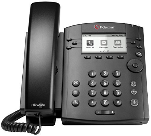 Polycom VVX 300 IP Business PoE Telephone (Power Supply Included)