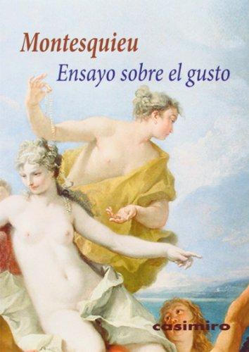 Ensayo sobre el gusto (Historia (casimiro))