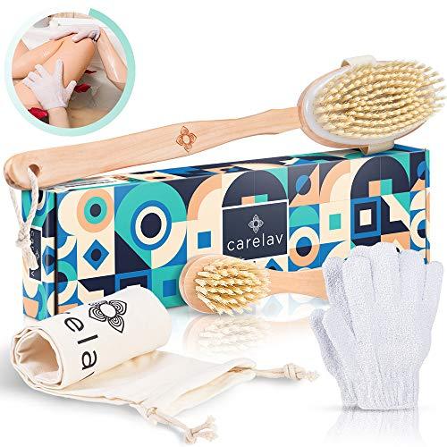 Vegan Dry Brushing Body Brush Set