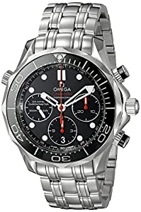 Omega Seamaster Diver 300 M Co-Axial Chronograph 41.5 mm Mens Watch 212.30.42.50.01.001 image