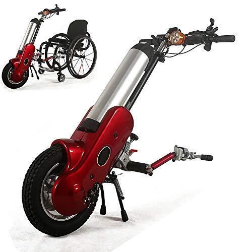 DFEDCLL Kit de conversión de handbike eléctrico para Silla de Ruedas eléctrica con batería de Iones de Litio, Adecuado para sillas de Ruedas Deportivas ✅