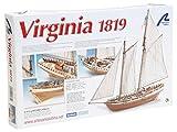 Maqueta de barco en madera: Virginia American schooner , color/modelo surtido