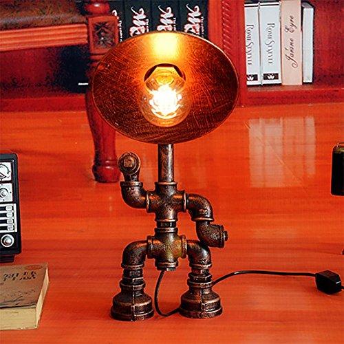 baby Q Lampe de Bureau, Lampe d'industrie de Tuyau d'eau, éclairage de Chambre à Coucher de Barre de Restaurant de personnalité