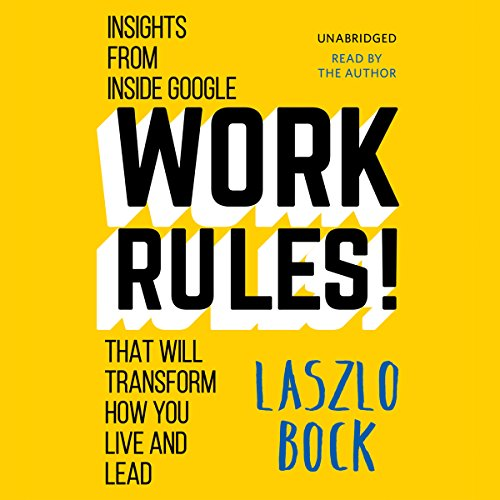Work Rules! audiobook cover art