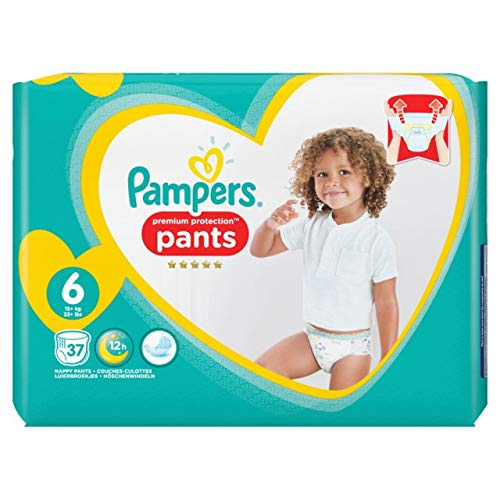 Pampers Premium Protection Pants Gr.6 Extra Large 15+kg Jumbopack, 37 Stück