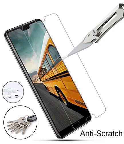 VICKSONGS (3Stück Schutzfolie für Huawei P20 Pro,[Ultra Clear] Displayschutzfolie (Nicht Glas) PET Soft Displayschutz [Anti-Bläschen][Anti-Fingerabdruck] Screen Protector für Huawei P20 Pro - 5
