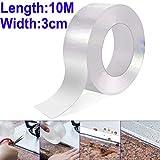 Gebildet 1 piece 10m × 3cm PVC Impermeabile Striscia Sigillante per Cucina e Bagno, Acril...