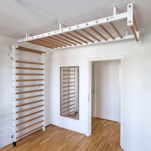 ARTIMEX Set Sprossenwand für Wand und Decke, für Gymnastik und Fitness, Artikelnr. 221-MDW