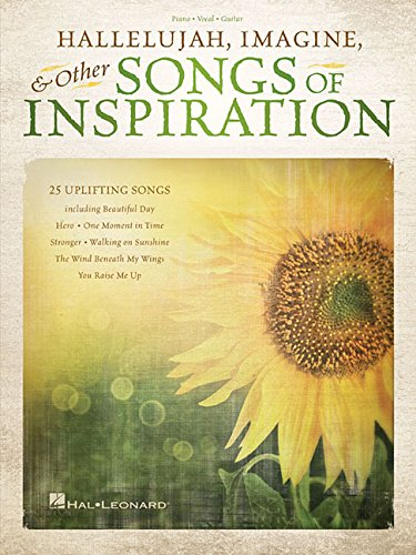 Compare Textbook Prices for Hallelujah, Imagine & Other Songs of Inspiration  ISBN 0884088910457 by Hal Leonard Corp.