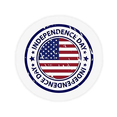 DIYthinker USA Flagge Independence Day Poststempel Muster Anti-Rutsch Boden Pet Matte r& Badezimmer Wohnzimmer Küche Tür 80cm Geschenk