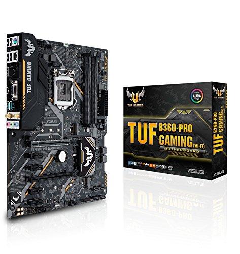Asus Intel B360 ATX - Placa base gaming con Aura Sync RGB...