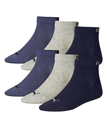 PUMA PUMA Unisex Quarter Quarters Socken 6er Pack