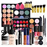 Joyeee All-in-One Makeup Gift Set Travel Makeup Kit Complete Starter Makeup Bundle Lipgloss Lipstick Concealer Blushes Powder Eyeshadow Palette Cosmetic Palette for Teen Girls & Adults #14