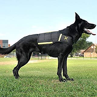 Xdog Weight & Fitness Vest for Dogs - A Weighted Dog Vest Used to Build Muscle, Improve Performance, Combat Obesity & Anxiety - Improve Your Dog's Overall Health & Exercise.