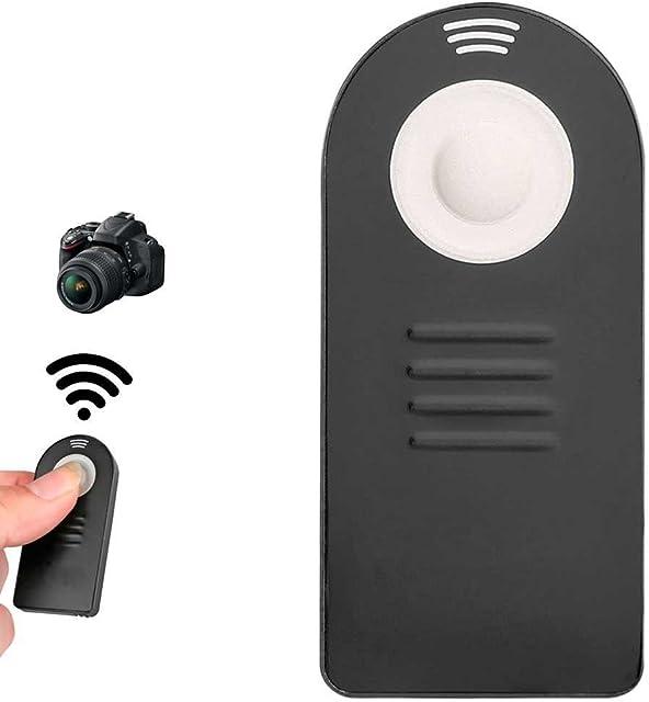 OcioDual Mando Disparador a Distancia ML-L3 para Nikon D5100 D5200 D3200 D3300 D7100 Negro