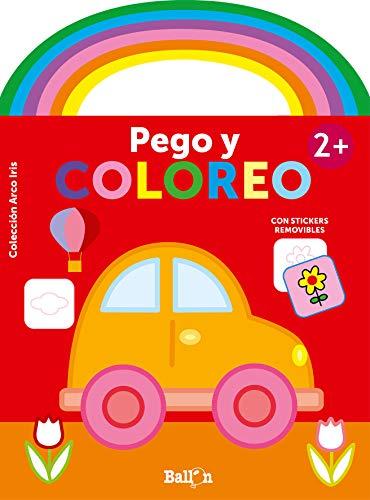 Arco iris pego y coloreo +2 coche (ARCO IRIRS - PEGO Y COLOREO)