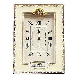 benerini Happy 50th Golden Wedding Anniversary Quartz Table Clock Gift Present