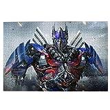 Transformers Tomoving Rompecabezas de 1000 Piezas para Adultos Rompecabezas de 1000 Piezas Difíciles y desafiantes