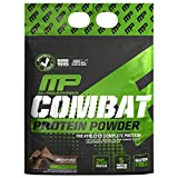 Muscle Pharm Combat Protein Powder, 5 Protein Blend, 10 Pounds, 129 Servings (MPH1006/549/1079),Chocolate Milk,Chocolate Milk, 10 Pound (Pack of 1), 160 Oz
