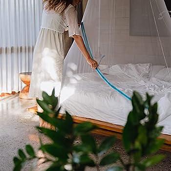 Glisglis-Moustiquaire de voyage avec extenseur dans ourlet, recouvre le matelas -Pas d'espaces. Pas de moustiques. (moustiquaire, baldaquin, imperméabilisé)