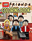 Lego Friends Coloring Book: High Quality Coloring Books With Friends Characters, Scenes, Landscapes In Lego Style